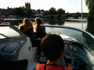 Cadet power boating....
